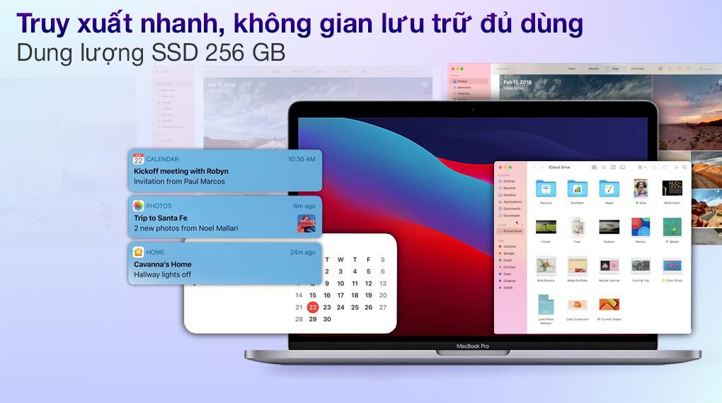 Apple MacBook Pro M1 2020 (MYD82SA/A)- SSD