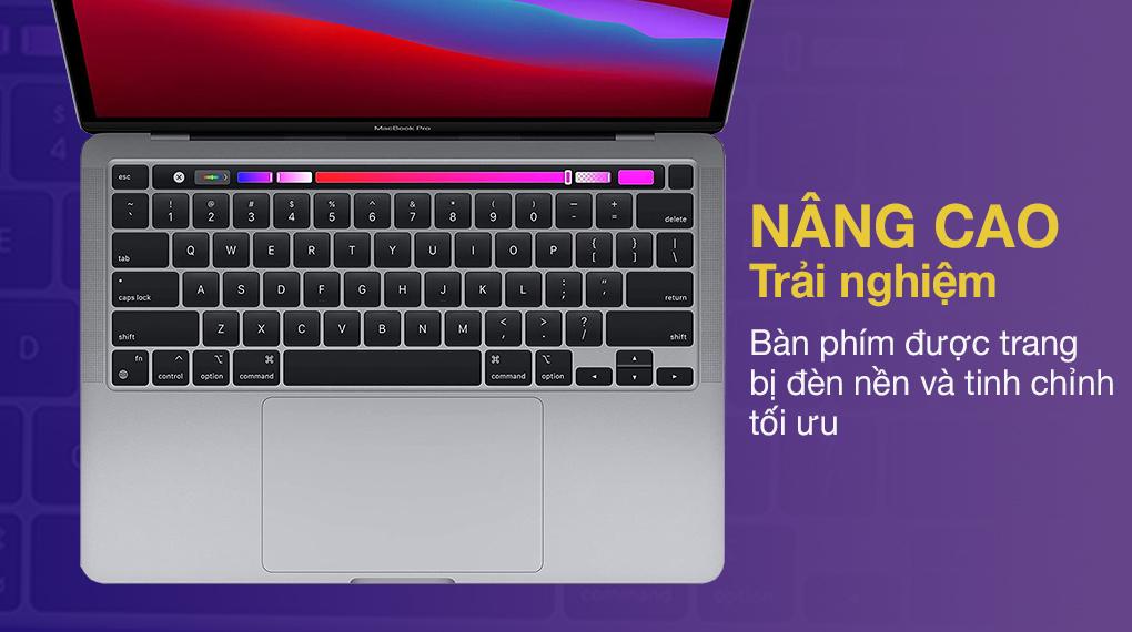 Apple MacBook Pro M1 2020 (MYD82SA/A)- Bàn phím