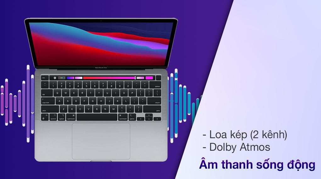 Apple MacBook Pro M1 2020 (MYD82SA/A)- Âm thanh