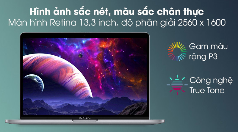 Apple Macbook Pro 2020 (MYD92SA/A) - Màn hình