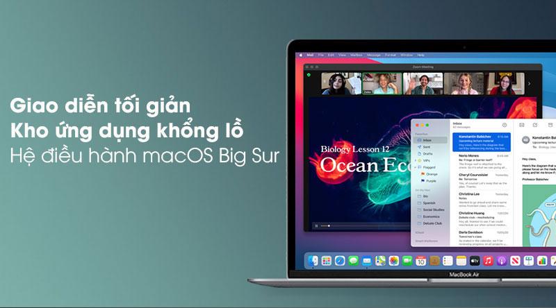 Apple Macbook Pro 2020 (MYD92SA/A) - Hệ điều hành