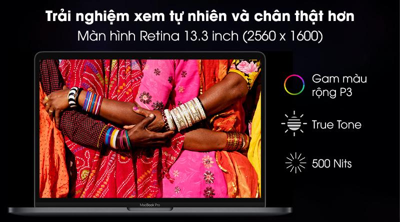 Laptop Apple Macbook Pro 2020 M1/16GB/512GB (Z11C) - Màn hình
