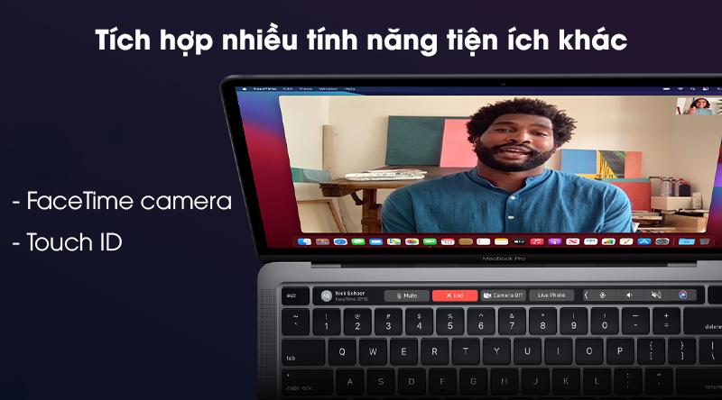 Laptop Apple Macbook Pro 2020 M1/16GB/512GB (Z11C) - Tiện ích