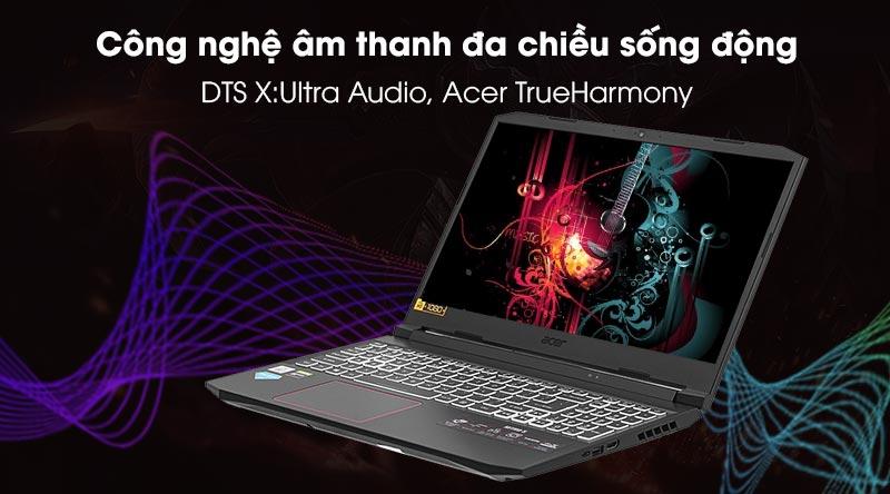 Acer Nitro 5 AN515 55 5206 (NH.Q7NSV.007) - âm thanh