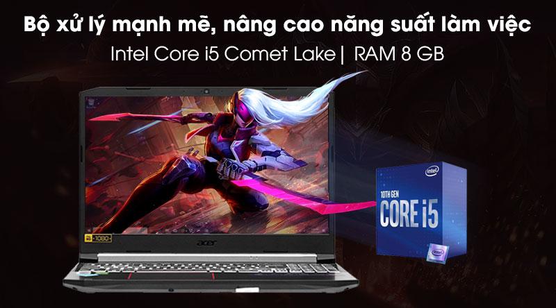 Acer Nitro 5 AN515 55 5206 (NH.Q7NSV.007) - cấu hình