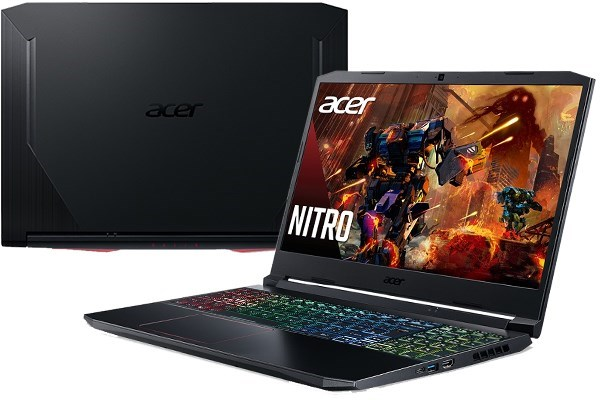 Laptop Acer Nitro 5 AN515 55 5206 i5/10300H/8GB/512GB/144Hz/4GB GTX1650Ti/Win10 (NH.Q7NSV.007)