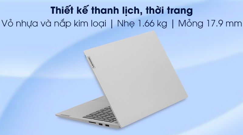 Lenovo IdeaPad Slim 5 15ITL05 i5 1135G7 (82FG001PVN) - thiết kế