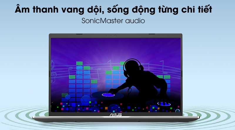 Laptop Asus VivoBook X515MA (EJ120T) - Âm thanh