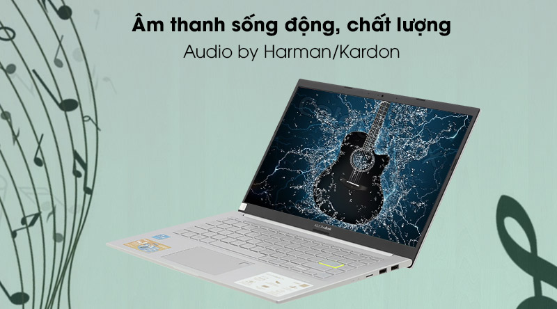 Asus VivoBook A415EA i5 (EB354T) - âm thanh