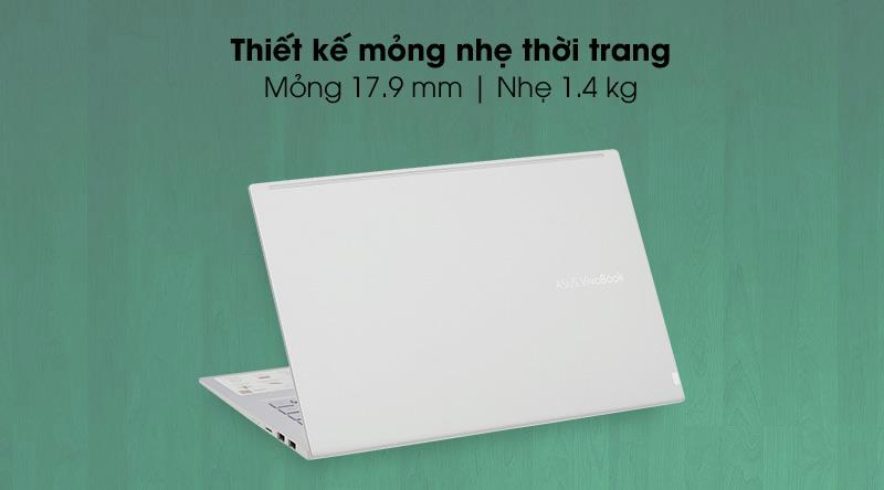 Asus VivoBook A415EA i5 (EB354T) - thiết kế