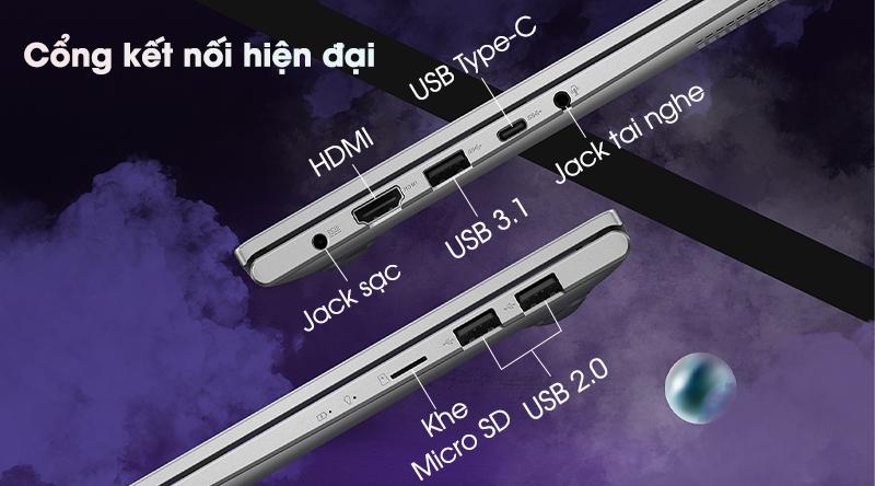 Asus VivoBook A415EA i5 1135G7 (EB355T) - Kết nối