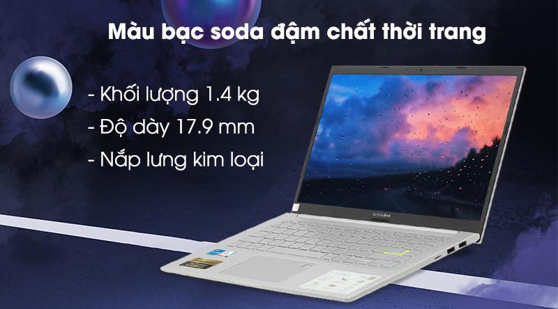Asus VivoBook A415EA i5 1135G7 (EB355T) - Thiết kế