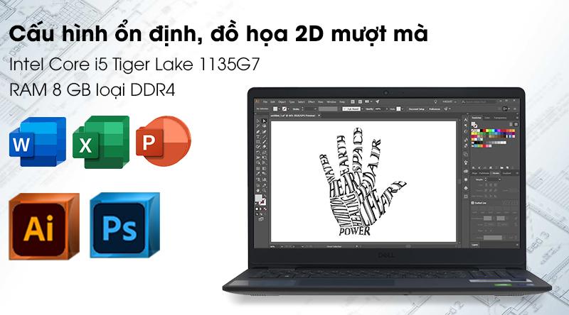 Laptop Dell Inspiron 3501 i5 (70234074) - Cấu hình
