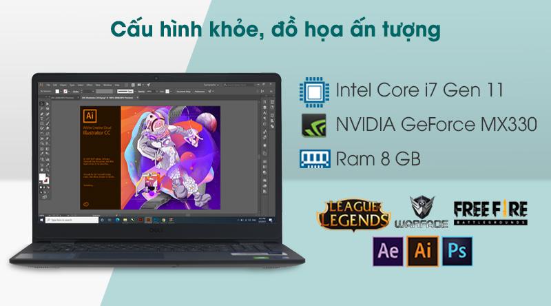 Laptop Dell Inspiron 3501 i7 (70234075) - Cấu hình
