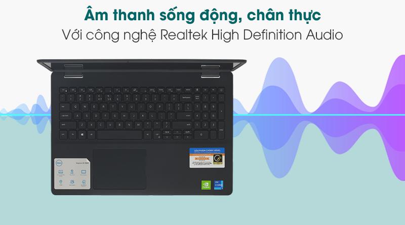 Laptop Dell Inspiron 3501 i7 (70234075) - Âm thanh