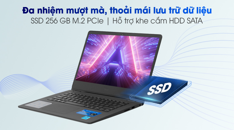 Laptop Dell Vostro 3400 i3 (70235020) - Ổ cứng SSD