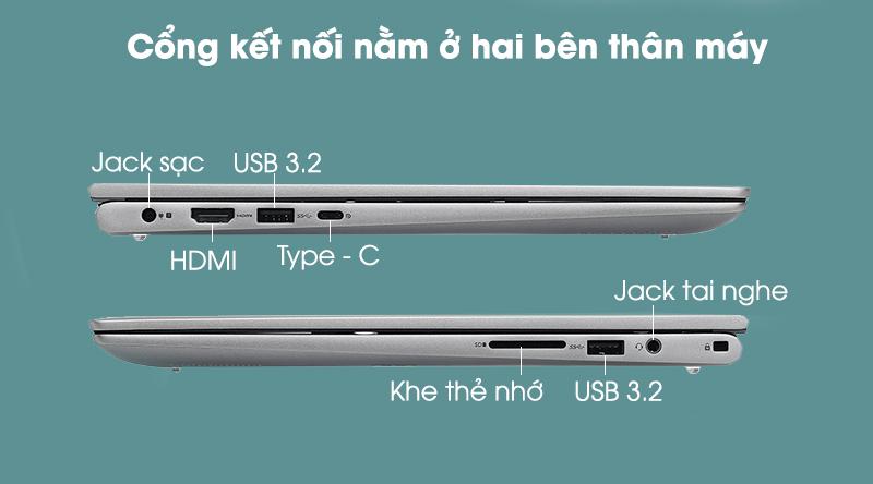 Dell Inspiron 5406 i5 (70232602) - kết nối