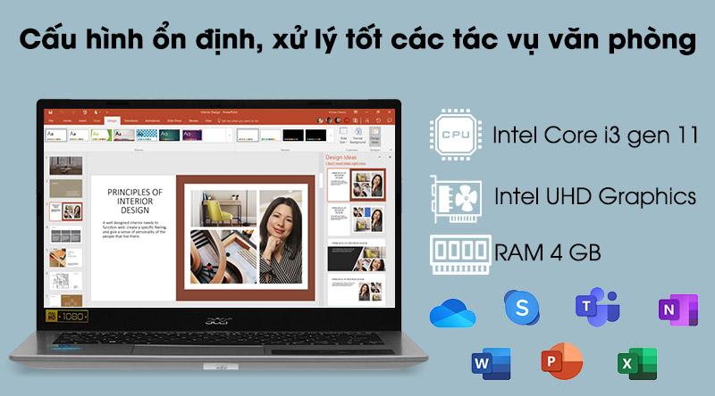 Acer Aspire 5 A514 (NX.A23SV.009) - CPU