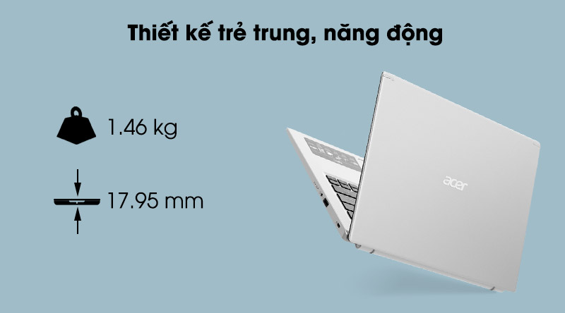 Acer Aspire 5 A514 (NX.A23SV.009) - thiết kế