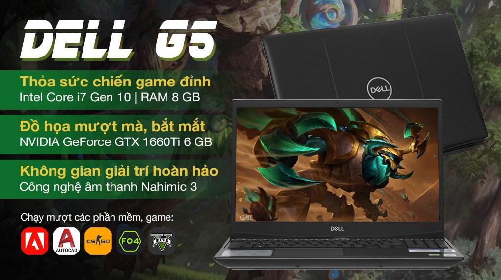 Dell Gaming G5 15 5500 i7 10750H (70225485)
