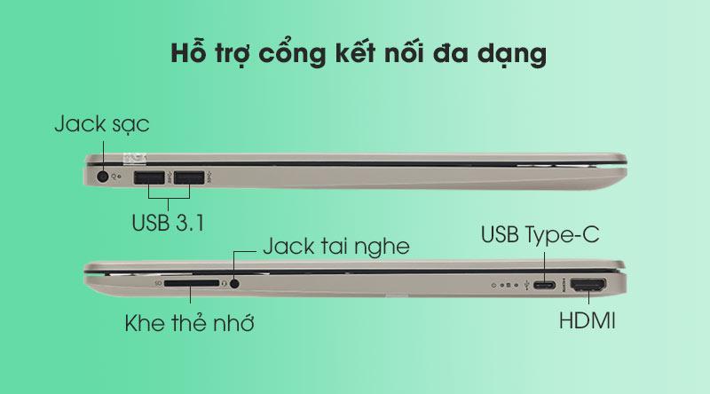 HP 15s fq2028TU i5 (2Q5Y5PA) - Cổng kết nối