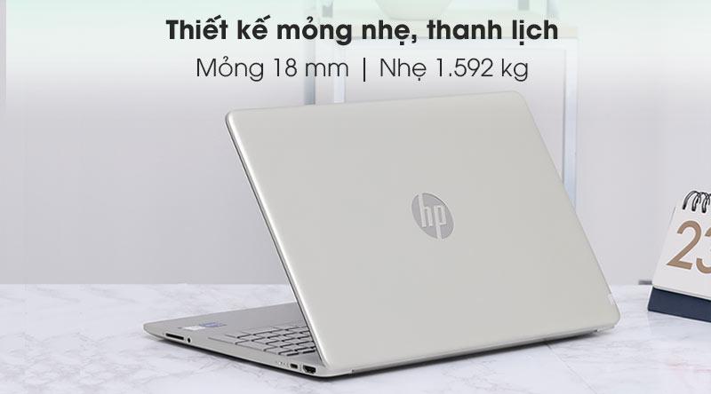 HP 15s fq2028TU i5 (2Q5Y5PA) - Thiết kế
