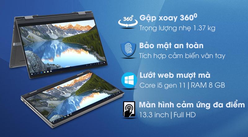 Dell Inspiron 7306 i5 1135G7 (N3I5202W)