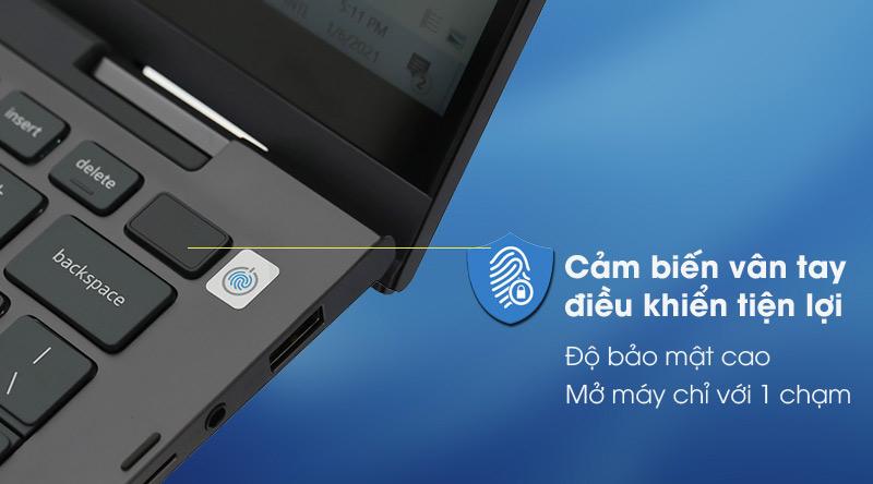 Laptop Dell Inspiron 7306 i5 (N3I5202W) - Vân tay