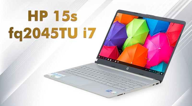 HP 15s fq2045TU i7 1165G7 (31D93PA)