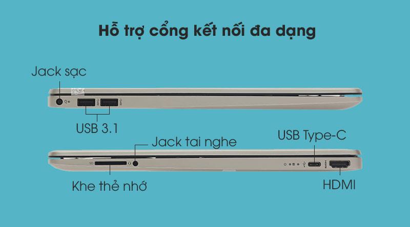 HP 15s fq2045TU i7 (31D93PA) - kết nối