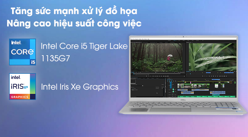 Laptop Dell Inspiron 5502 i5 (1XGR11) - Hiệu năng