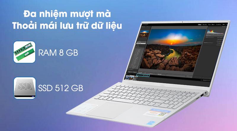 Laptop Dell Inspiron 5502 i5 (1XGR11) - RAM