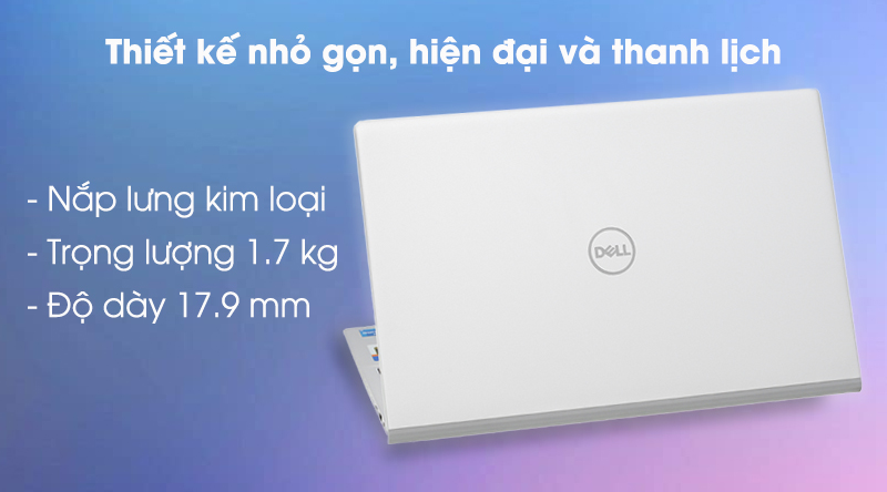 Laptop Dell Inspiron 5502 i5 (1XGR11) - Thiết kế