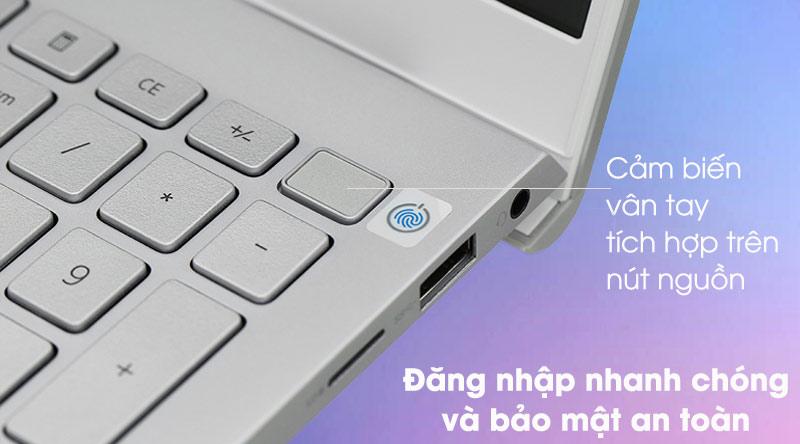 Laptop Dell Inspiron 5502 i5 (1XGR11) - Vân tay