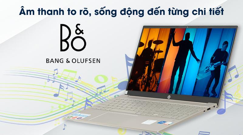 Laptop HP Pavilion 15 eg0070TU i5 (1135G7) - Âm thanh