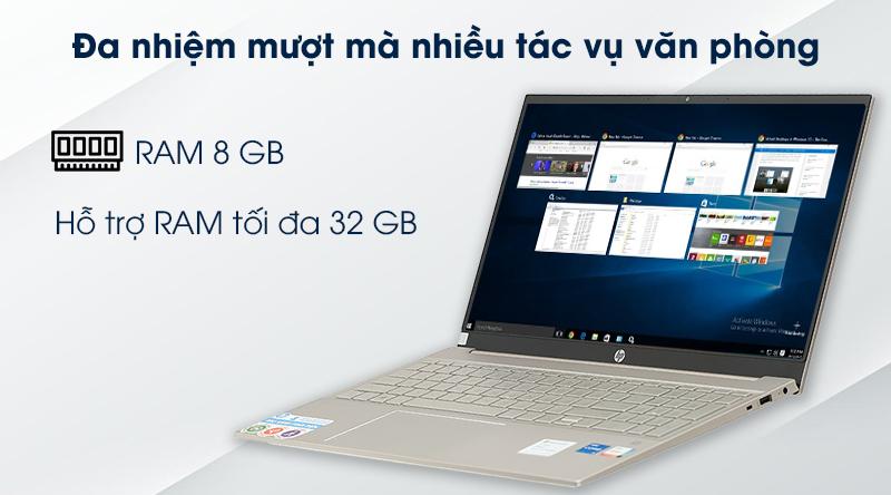 Laptop HP Pavilion 15 eg0070TU i5 (1135G7) - RAM