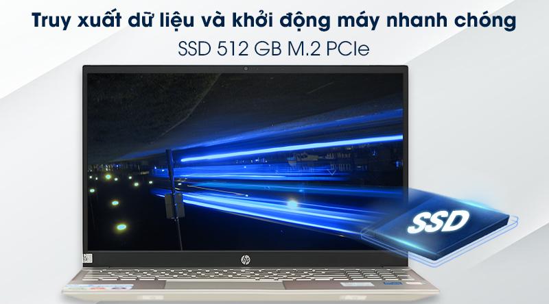 Laptop HP Pavilion 15 eg0070TU i5 (1135G7) - SSD