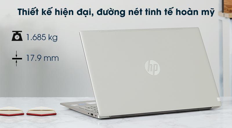 Laptop HP Pavilion 15 eg0070TU i5 (1135G7) - Thiết kế