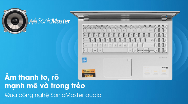 Laptop Asus VivoBook X515MA (BR111T) - Âm thanh