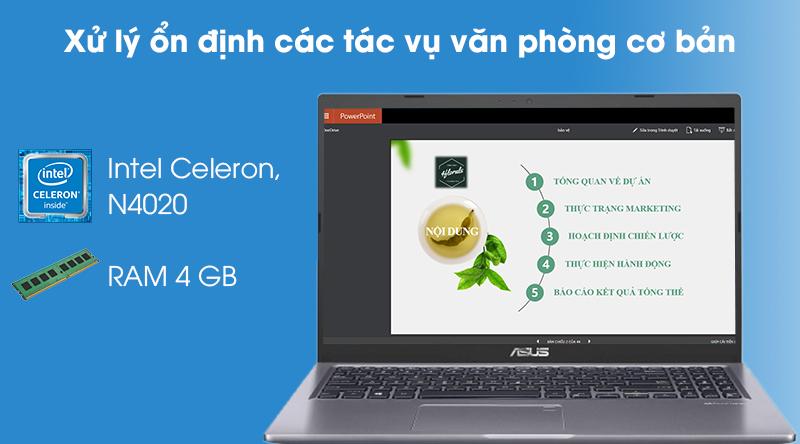 Laptop Asus VivoBook X515MA (BR111T) - Hiệu năng