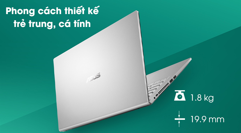 Laptop Asus VivoBook X515MA (BR111T) - Thiết kế