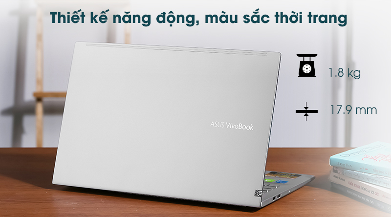 Laptop Asus VivoBook A515EP - Thiết kế