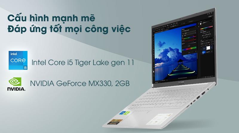 Laptop Asus VivoBook A515EP - CPU