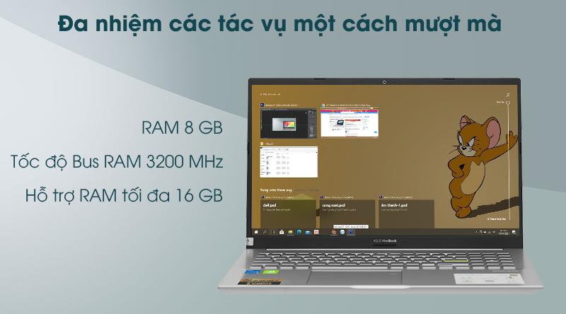Laptop Asus VivoBook A515EP - RAM