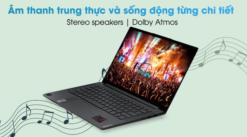 Laptop Lenovo Yoga Slim 7 14ITL05 i5 (82A3000DVN) - Âm thanh