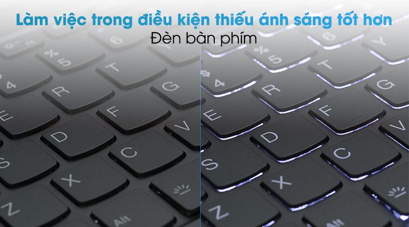 Laptop Lenovo Yoga Slim 7 14ITL05 i5 (82A3000DVN)  - Đèn bàn phím