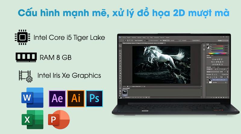Laptop Lenovo Yoga Slim 7 14ITL05 i5 (82A3000DVN) - Cấu hình
