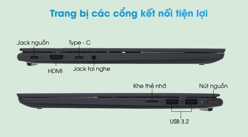 Laptop Lenovo Yoga Slim 7 14ITL05 i5 (82A3000DVN) - Kết nối