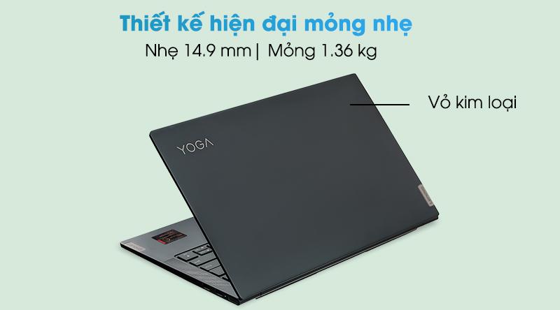 Laptop Lenovo Yoga Slim 7 14ITL05 i5 (82A3000DVN)  - Thiết kế