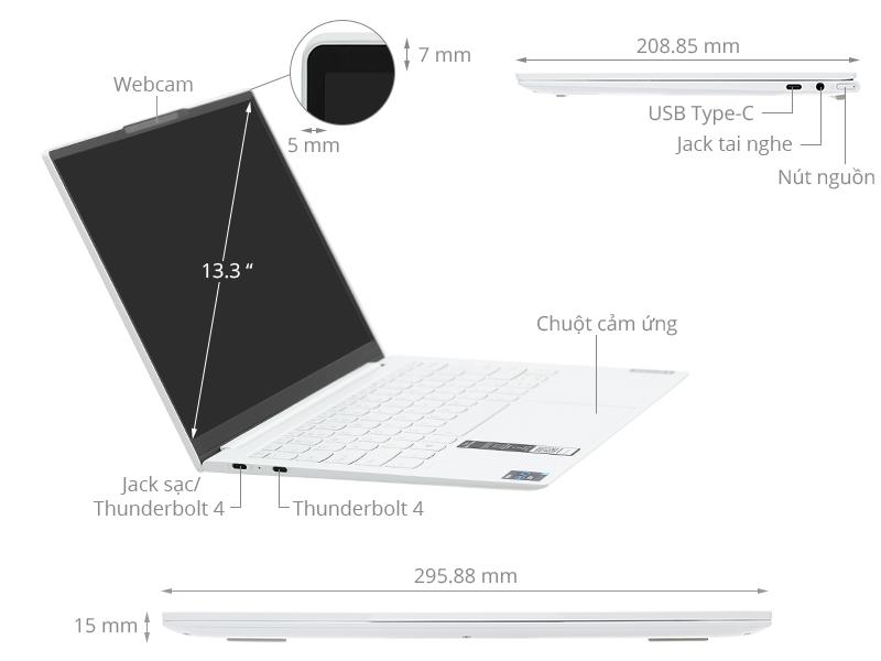 Lenovo YOGA Slim 7 Carbon 13ITL5 i5 1135G7/16GB/512GB/Win10 (82EV0016VN)
